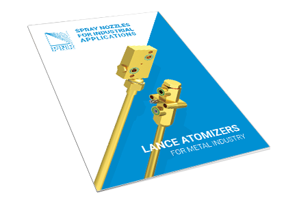 Lance atomizer for metal industry - brochure